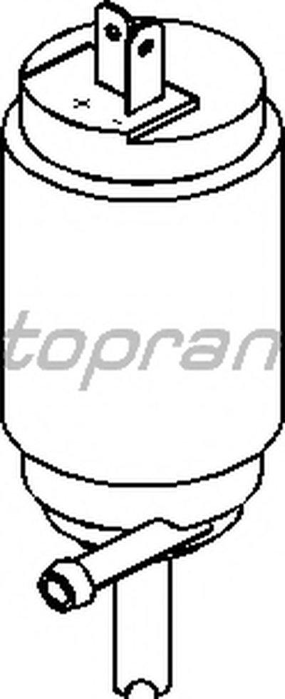 Насос склоомивача