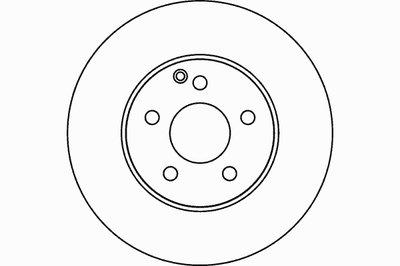 Диск тормозной передний TEXTAR 92115103 для авто MERCEDES-BENZ с доставкой