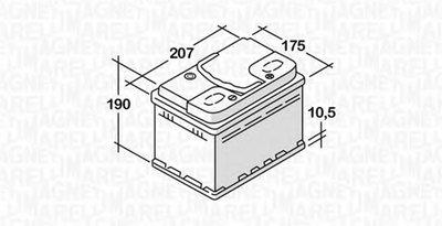 Стартерная аккумуляторная батарея для ETS MAGNETI MARELLI купить