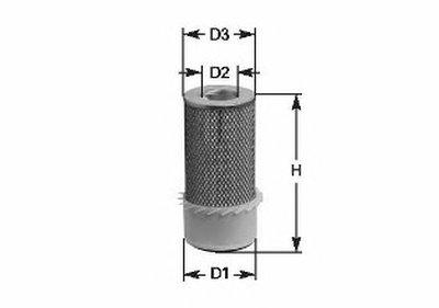 MA3075 CLEAN FILTERS Воздушный фильтр