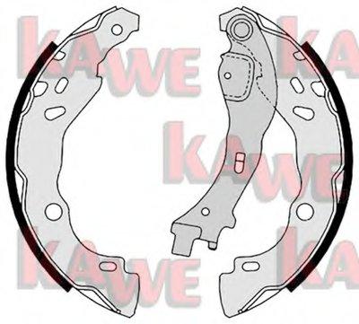 Комплект тормозных колодок KAWE купить