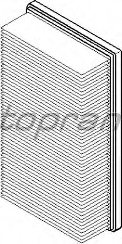 Воздушный фильтр TOPRAN купить