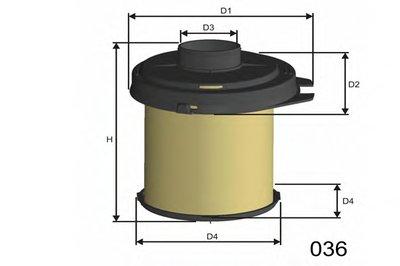 Воздушный фильтр MISFAT MISFAT купить