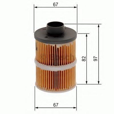1457070001 BOSCH Топливный фильтр -1