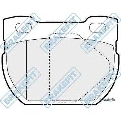 Комплект тормозных колодок, дисковый тормоз Brake Fit APEC braking купить