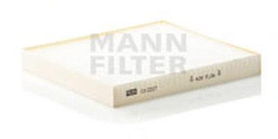 CU2227 MANN-FILTER Фильтр, воздух во внутренном пространстве