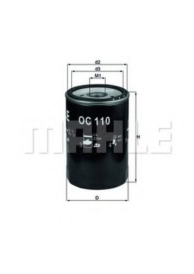 OC110 KNECHT Масляный фильтр