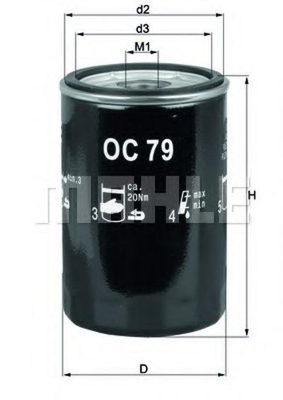 OC79 KNECHT Масляный фильтр