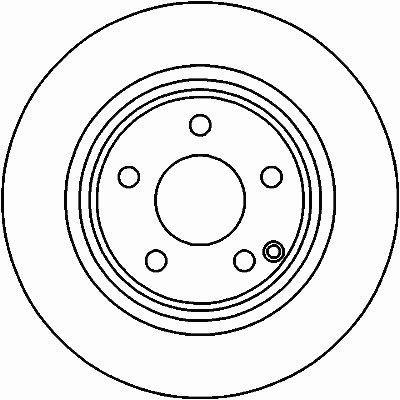 Диск тормозной TEXTAR 92115205 для авто MERCEDES-BENZ с доставкой