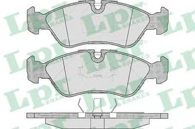 05P304 LPR Комплект тормозных колодок, дисковый тормоз