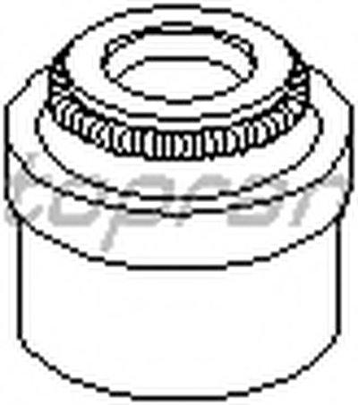 Уплотнительное кольцо, стержень кла TOPRAN купить