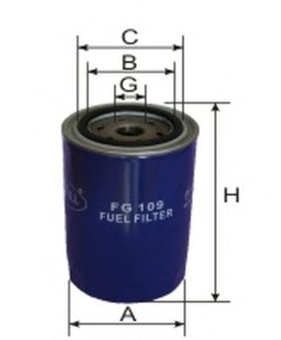 FG109 GOODWILL Топливный фильтр