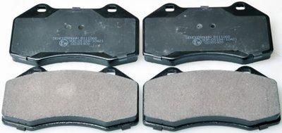 B111268 DENCKERMANN Колодки тормозные дисковые передние