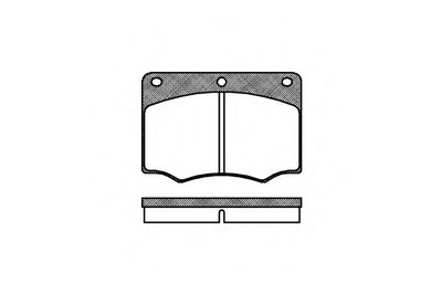 Колодки Торм.дисковые ROADHOUSE 206400 для авто  с доставкой