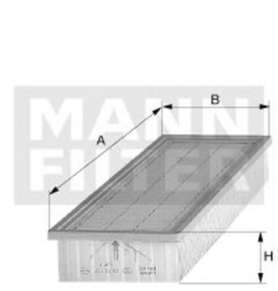 C34120 MANN-FILTER Воздушный фильтр