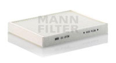 CU27362 MANN-FILTER Фильтр, воздух во внутренном пространстве