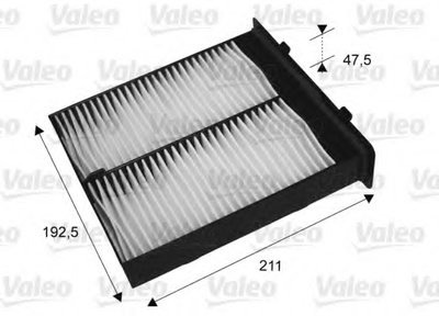 715652 VALEO Фильтр, воздух во внутренном пространстве