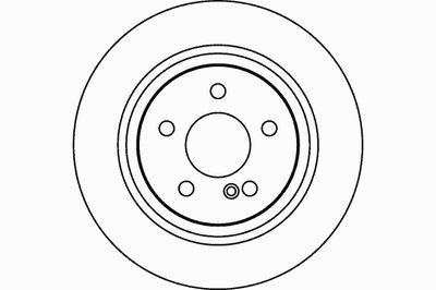 Тормозной диск TEXTAR PRO