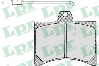 Комплект тормозных колодок, дисковый тормоз LPR купить
