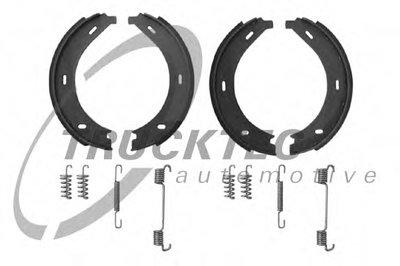 Колодки ручника MB Vito (W638) 96-03 (с пружинками) TRUCKTEC AUTOMOTIVE 0235046 для авто MERCEDES-BENZ с доставкой