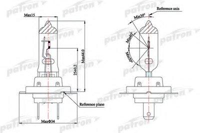 Лампа накаливания, фара дальнего света; Лампа накаливания, основная фара; Лампа накаливания, противотуманная фара; Лампа накаливания, основная фара; Лампа накаливания, фара дальнего света; Лампа накаливания, противотуманная фара; Лампа накаливания, фара с авт. системой стабилизации; Лампа накаливания, фара с авт. системой стабилизации PATRON купить