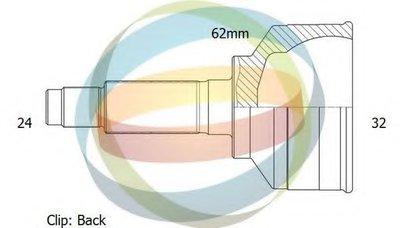 Шарнирный комплект, приводной вал ODM-MULTIPARTS купить