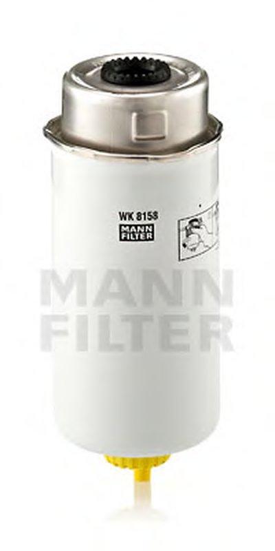 WK8158 MANN-FILTER Топливный фильтр