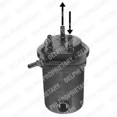 HDF942 DELPHI Топливный фильтр