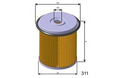 F676 MISFAT Топливный фильтр