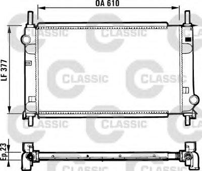 Радиатор Ford Mondeo 1.6-2.0 Mt 93-01 VALEO 231550 для авто FORD с доставкой