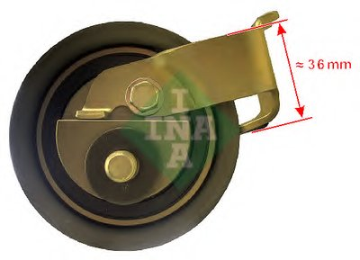 Ролик INA INA 531050020 для авто AUDI, SEAT, SKODA, VW с доставкой