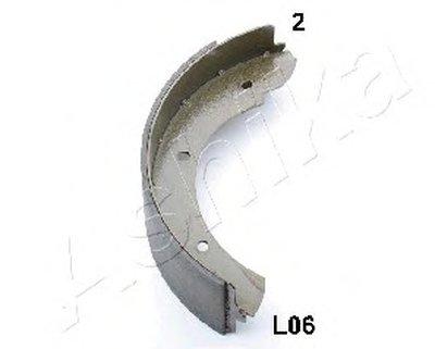 Комплект тормозных колодок, стояночная тормозная система ASHIKA купить