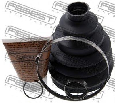 Пыльник Шрус Наружный Комплект 99.5X125X27.5 FEBEST 2317PT5 для авто AUDI, SEAT, SKODA, VW с доставкой