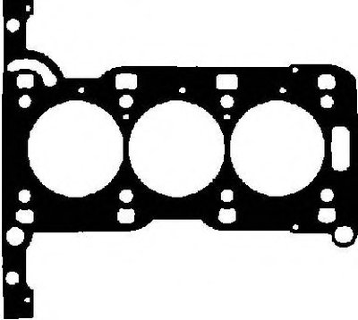 H80082-00_Прокладка Гбц! Opel Agilacorsa 1.0 12V Zx10Xe 96 GLASER H8008200 для авто OPEL с доставкой