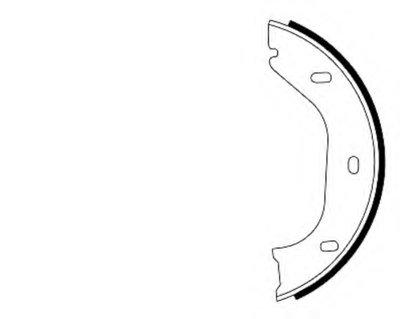 Комплект тормозных колодок, стояночная тормозная система TEXTAR купить