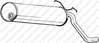 Глушитель выхлопных газов конечный BOSAL купить