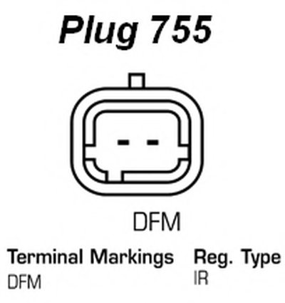 Генератор Remanufactured REMY (Light Duty) DELCO REMY купить