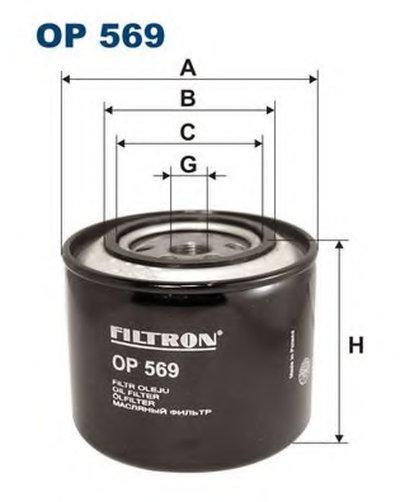 OP569 FILTRON Масляный фильтр