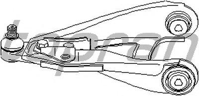700318 TOPRAN Рычаг независимой подвески колеса, подвеска колеса