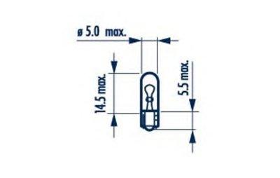 Лампа накаливания, oсвещение салона; Лампа накаливания, фонарь установленный в двери; Лампа накаливания, дополнительный фонарь сигнала торможения; Лампа, страховочное освещение двери; Лампа, входное освещение NARVA купить