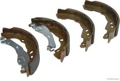 Колодки тормозные барабанные задние NISSAN MICRA, NOTE (пр-во Jakoparts)