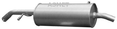 Глушитель выхлопных газов конечный ASMET купить