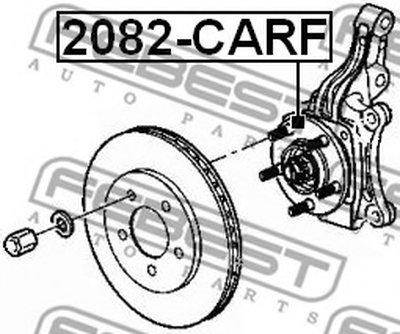 Ступица Передняя FEBEST 2082CARF для авто CHRYSLER, DODGE с доставкой-1