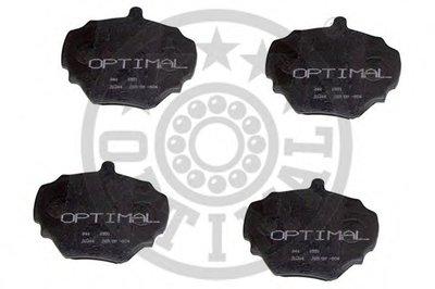 Комплект тормозных колодок, дисковый тормоз OPTIMAL купить
