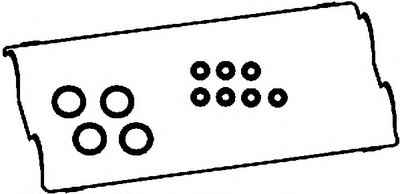 56026500 AJUSA Комплект прокладок, крышка головки цилиндра