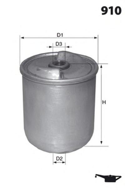 Масляный фильтр MECAFILTER MECAFILTER купить