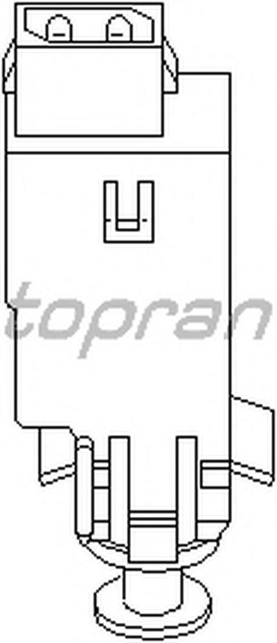 Выключатель фонаря сигнала торможения TOPRAN купить