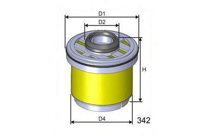 M605 MISFAT Топливный фильтр