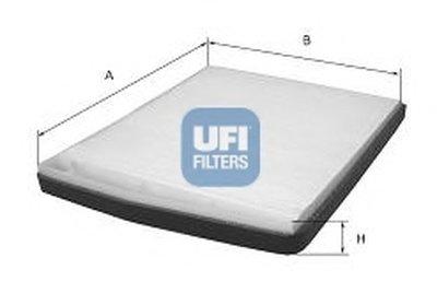 5320500 UFI Фильтр, воздух во внутренном пространстве
