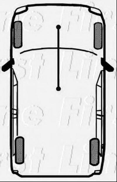 Трос, стояночная тормозная система FIRST LINE купить